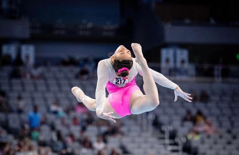 Ya! Hay nueva reina en la Gimnasia Olímpica