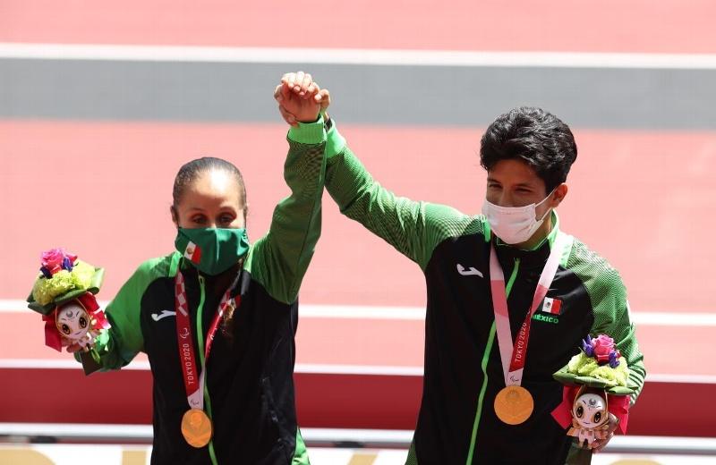 Mónica Rodríguez logra presea dorada número 100 para México en paralímpicos (+video)