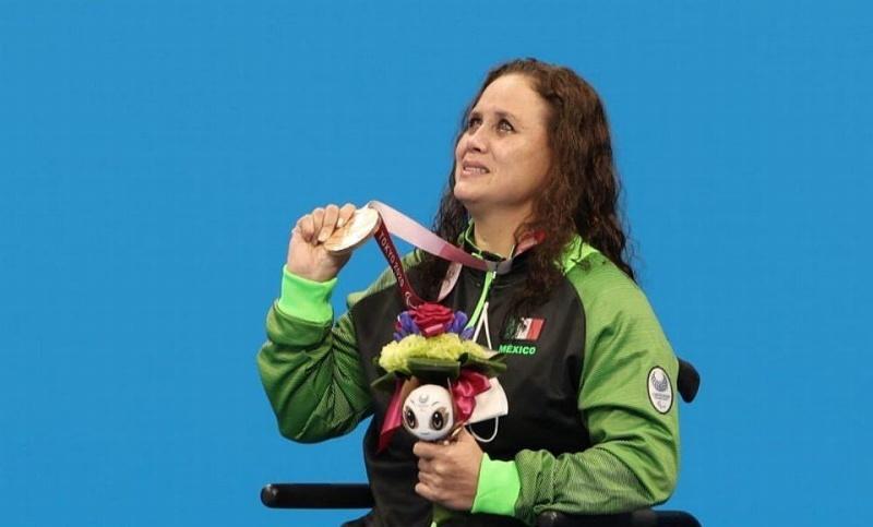 Deportista veracruzana gana medalla en Juegos Paralímpicos de Tokyo 2020 (+foto)